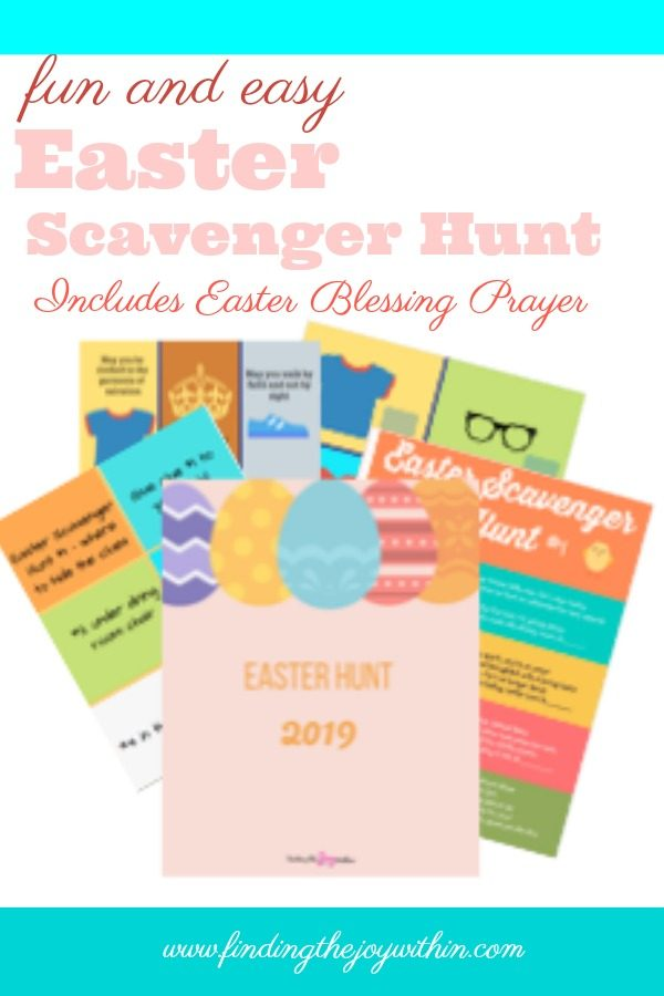 Easter Scavenger Hunt & Blessing Bundle