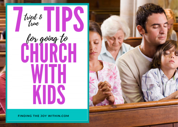 taking kids to church