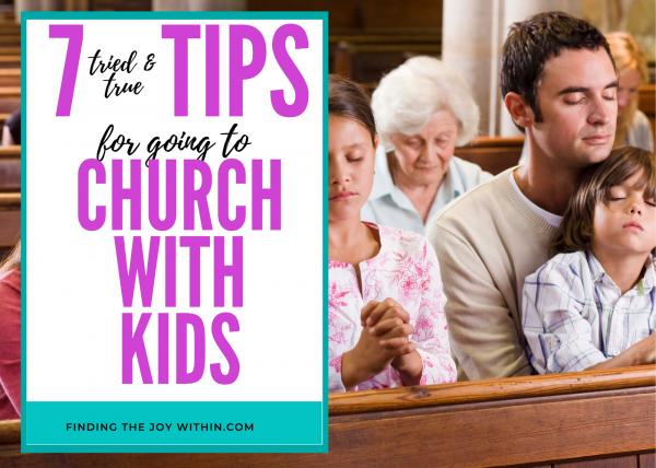 taking kids to church