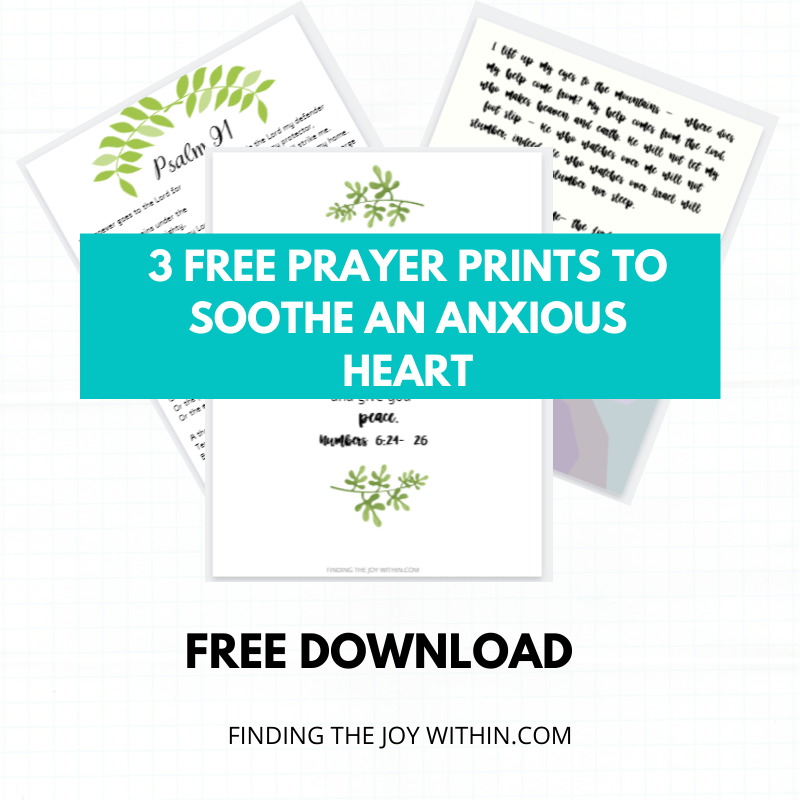 3 Prayers To Soothe An Anxious Heart