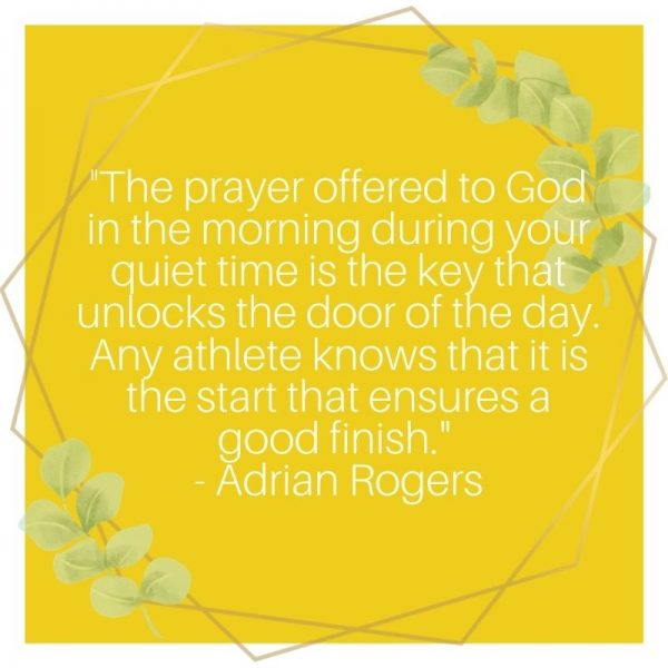make prayer a habit quote