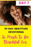 gratitude devotional